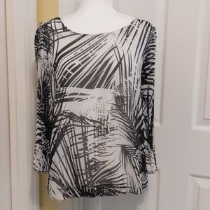 Dress Barn blouse size M